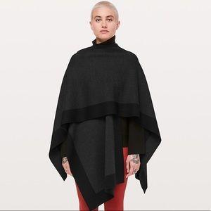Lululemon Bundle Up Wrap, Scarf, Sweater, Poncho